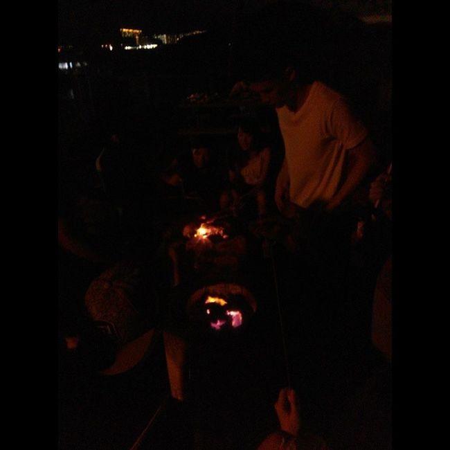 BBQ night 紅區 大美督 邊食邊唱 宵夜