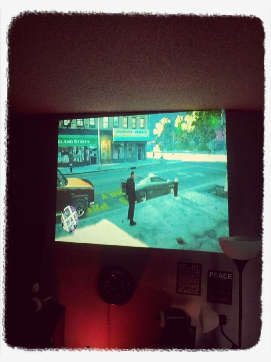 Ps3 On The Projector