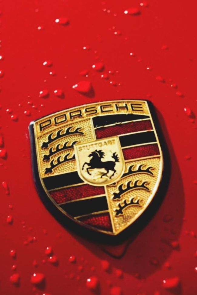 Two Is Better Than One Red Sports Car Porche
