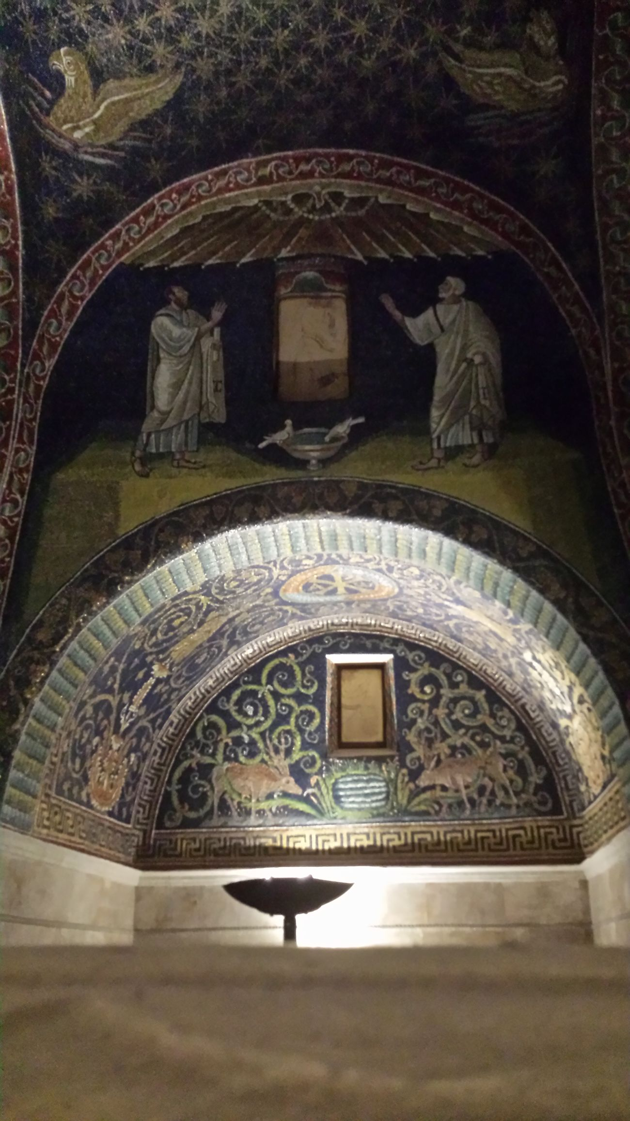 Mosaic Art Ravenna Galla Placidis