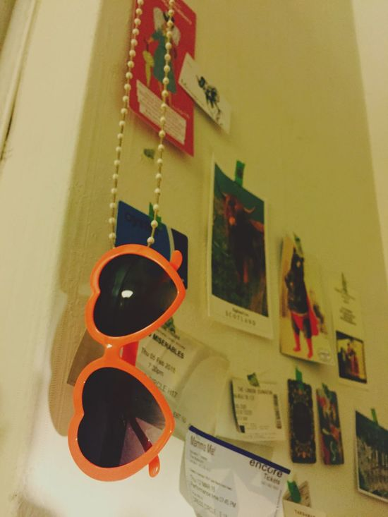 Heart Sunglasses Heart ❤ My Room Room Decoration Wall Shopcard My Daily Life My Stuff