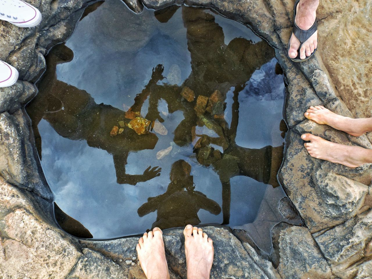 Bourke's Luck Potholes, South Africa. Standing Outdoors Pool Waterfall Potholes Close-up Lifestyles Day Photographyislife Green South Africa Beauty In Nature Nelspruit  Hiking Silhouette Fresh Nature Photography Naturelovers Nature_perfection Green Nature Fujifilm Fresh Water Looking Down Live For The Story Out Of The Box