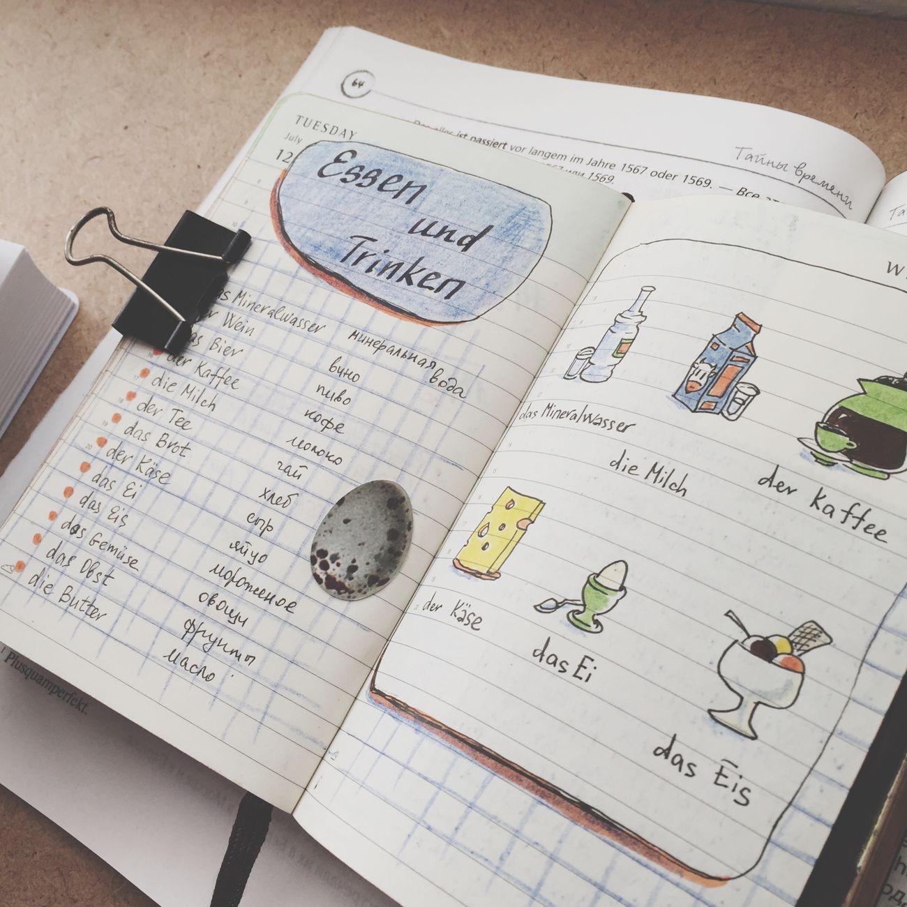 Paper Moleskine Day Deutsch Deutsche Worte Sketchbook Sketching Hobbies