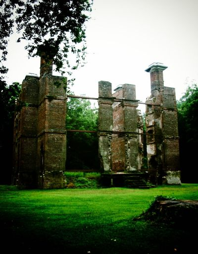 The Ruins of Rosewell Ancient Architectural Column Architecture Built Structure Castle Day Deterioration Exterior Field Grassy Green Color Historical Building History Lawn No People Obsolete Old Old Ruin Outdoors Rosewell Mansion Ruined Run-down Stone Material The Past Travel Destinations