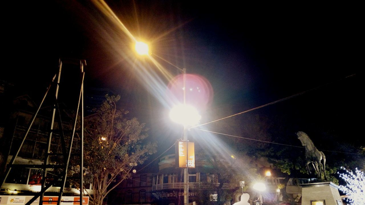 Night Illuminated No People Moon Sky Kalaghodaartfestival Kalaghoda🐴 Travel Lighting Equipment Famous Tourist Attractions