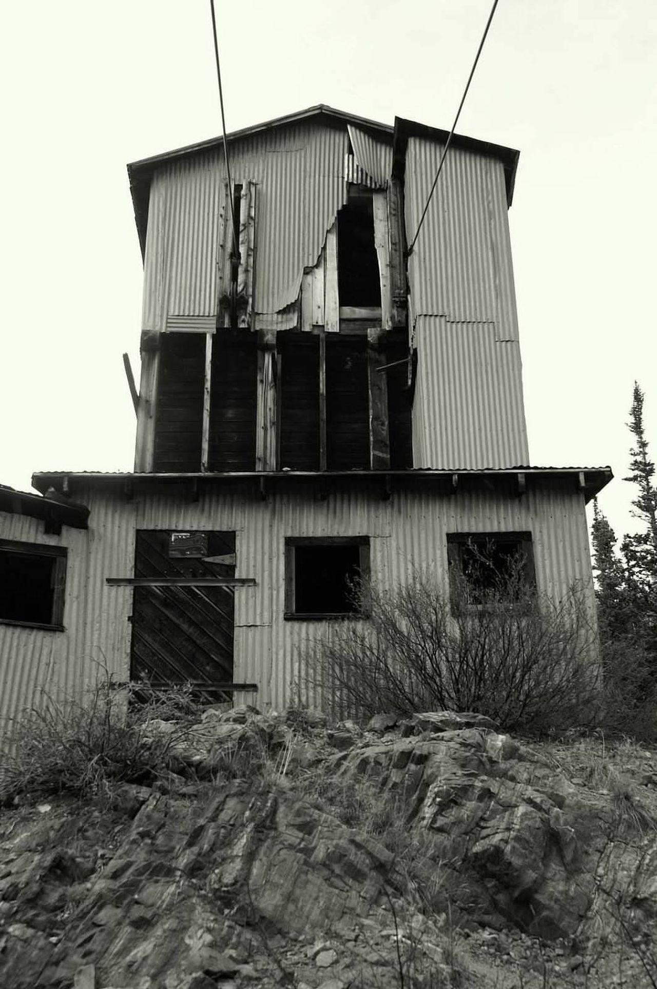 Abandoned Mining Built Structure Mining History Of America Mining Heritage