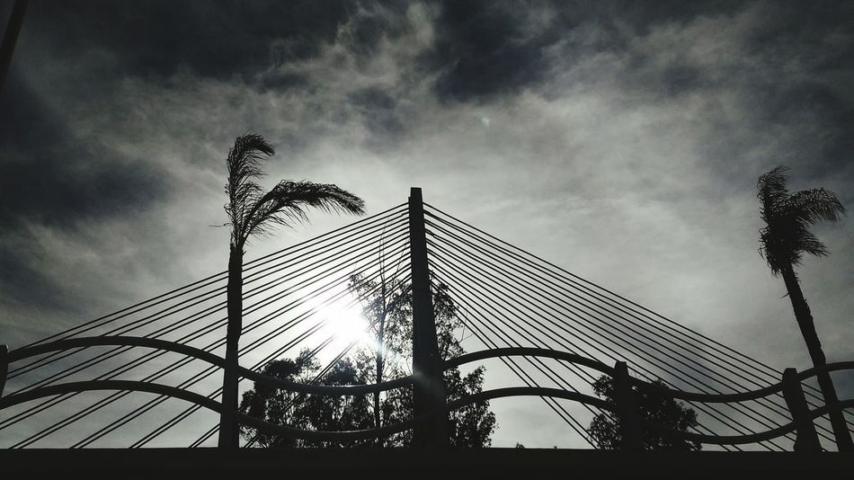 Puente Baluartito. Durango Low Angle View Sky Outdoors No People Day Bridge Bridge - Man Made Structure Puentes