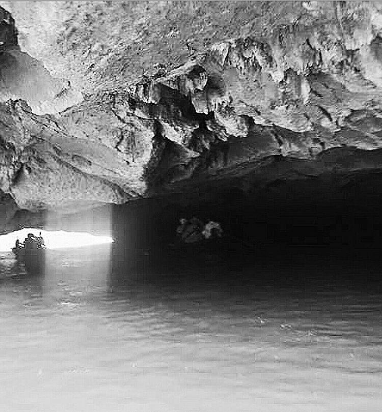 Emerging Cave Ngo Dong River Hoa Lu Sampans Travelphotography