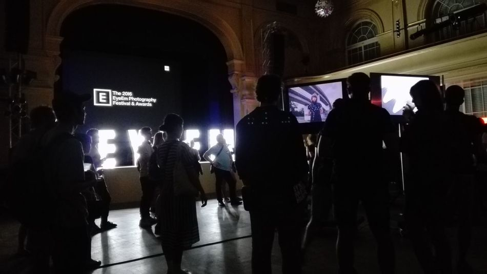 Event In Berlin Beutiful Day The 2016 EyeEm Awards Berlin Berlin Architecture Event Location Karl-marx-straße Theater Art Artist Artistic Photography Hello World Beautiful Berlin People Watching People Beutiful People No Filter No Edit Lights Night Technology