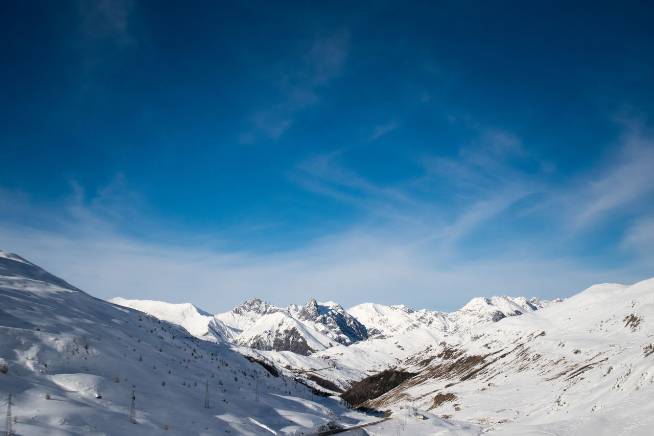Alpi Alps Beauty In Nature Blue Sky Italy Lanscape Livigno Mountain Mountains Nature No People Outdoors Snow Snowboard Winter
