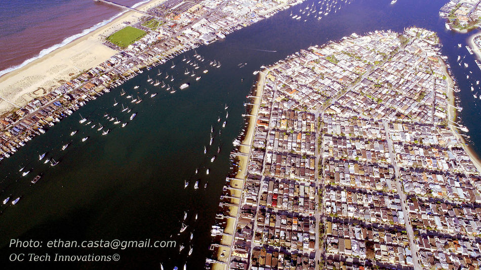 Aerial View Balboa Island Cityscape Corona Del Mar Day Drone  Drone Photography Dronephotography Ethan Castanon Fashion Island  Modern Newport Beach Newport Beach, CA, USA Newport Peninsu Sky The Wedge, Newport Beach Travel Destinations Urban Skyline Water