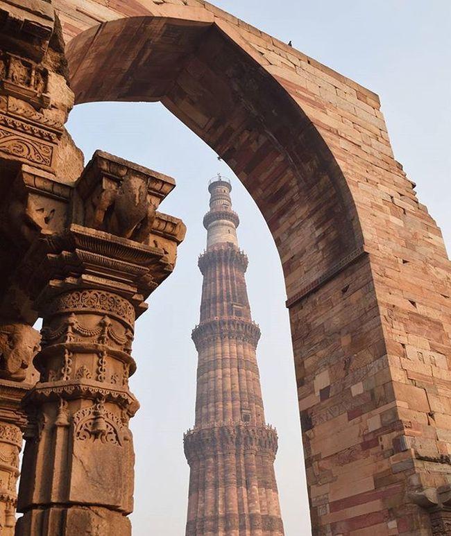 QutubMinar Minar Minare Southdelhi Delhi DelhiGram Indiapictures Igers Ig_india Igdelhi Ancient Architecture Worldheritage Wonderlust Instagood Nikon Nikontop