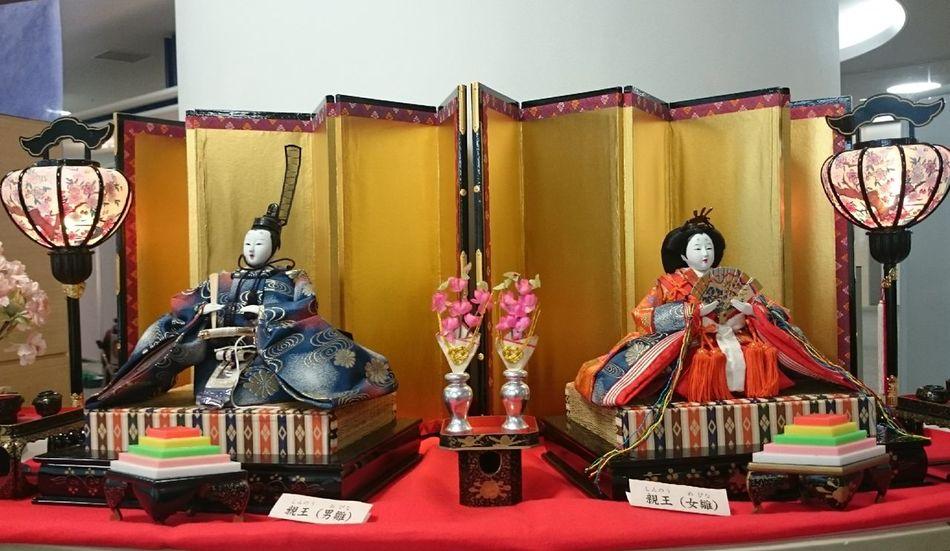 今日は某イベントに行って来ました^ ^ お雛様 可愛かったなー 明日も 笑顔でいこーね 美里 Japanese Shrine