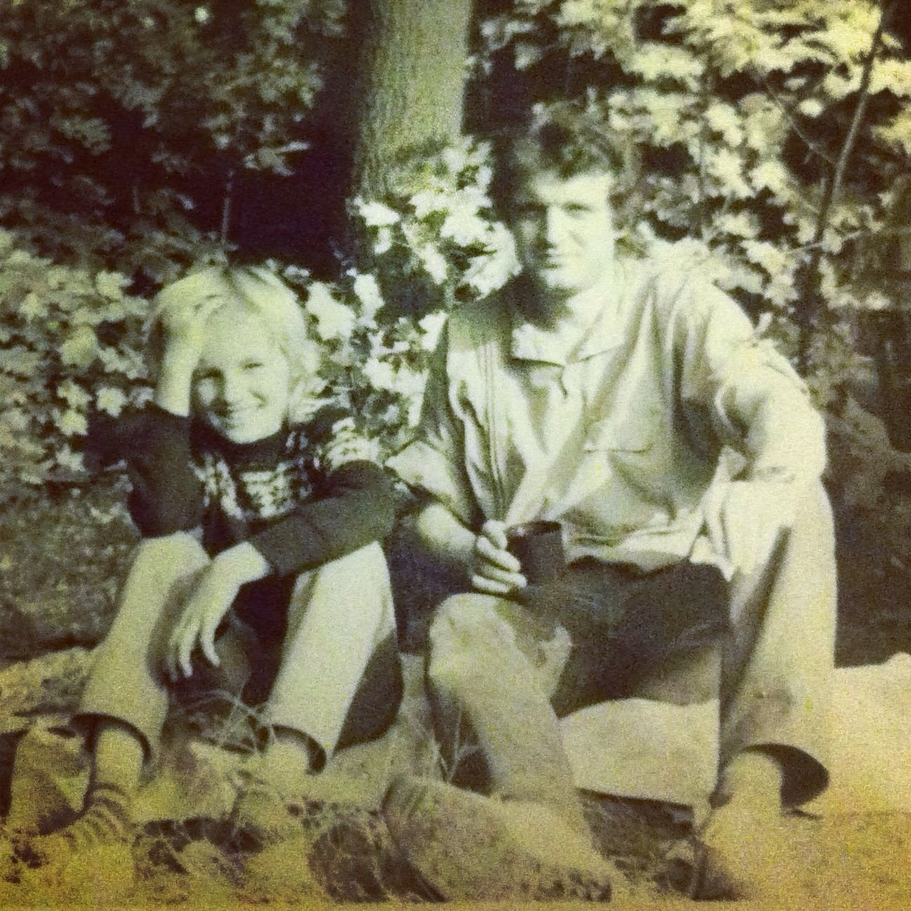 something private today !! me and my dad quite a long time ago ;)