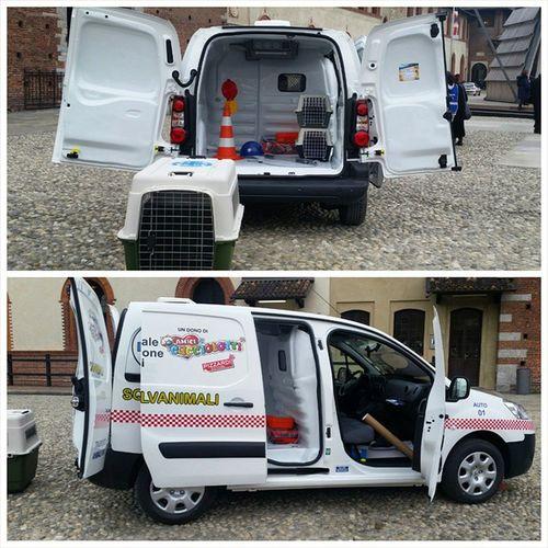 Oggi l' ENPA ottiene 35 nuovi mezzi per salvare gli animali in difficoltà. Delle mini-ambulanze super attrezzate 🐶🐱 LaSquadraSalvanimali