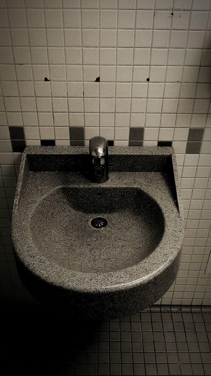 domestic bathroom, bathroom, hygiene, indoors, faucet, domestic room, bathroom sink, tile, no people, wash bowl, tap, shower head, water, toilet bowl, household fixture, shower, day
