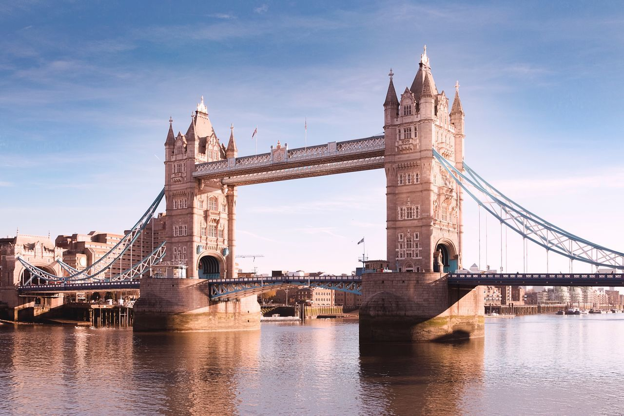 Architecture Built Structure Travel Destinations Connection Bridge - Man Made Structure City Travel Sky London Tower Bridge  Outdoors Transportation Cultures Tower Waterfront Bascule Bridge River Water Day No People