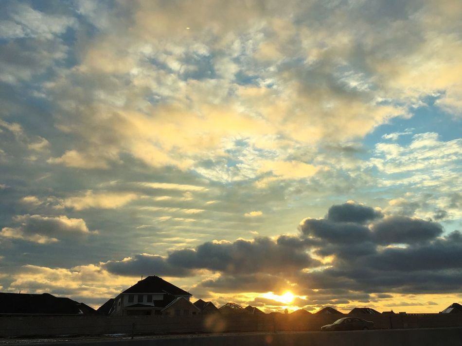 Sunset Sky Beauty In Nature Building Exterior Cloud - Sky House Built Structure Architecture Scenics Nature Tranquil Scene Travel Destinations No People Residential Building Outdoors Landscape Mountain Day