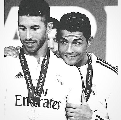 Sergio Ramos  Cristiano RONALDO Cr7 Realmadrid Forever Soccer