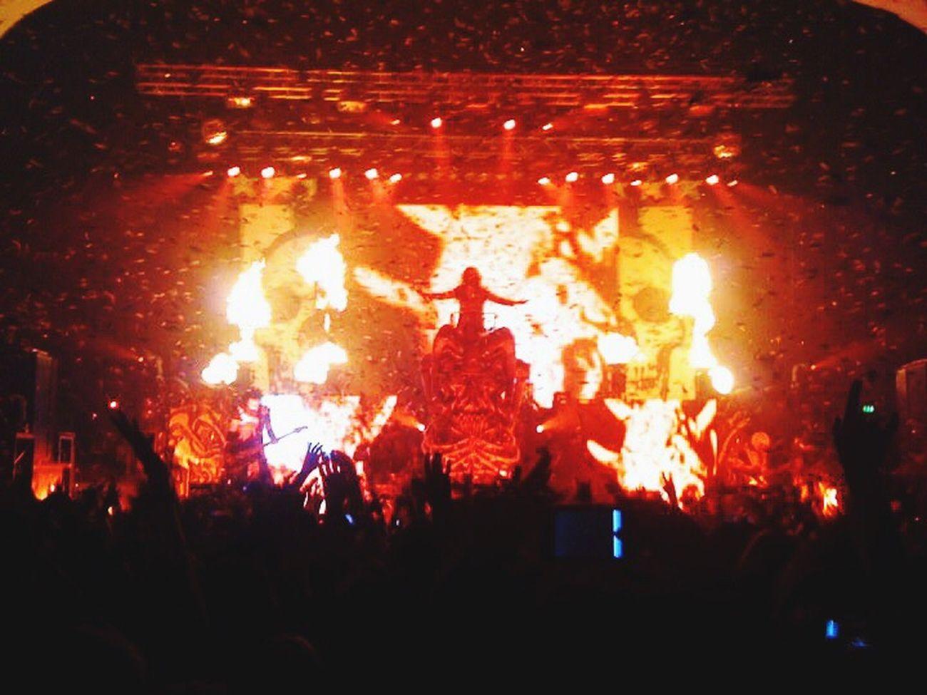 Rob zombie gig! Robzombie Gig LiveMusic Love Metal Brixton Friend Fun Life
