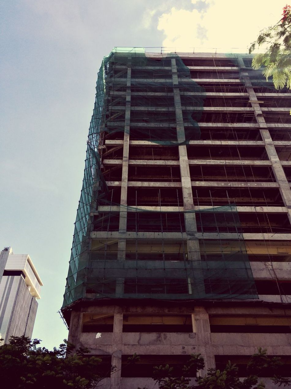 Construction Architecture Building Exterior Built Structure Low Angle View Sky Day Outdoors No People