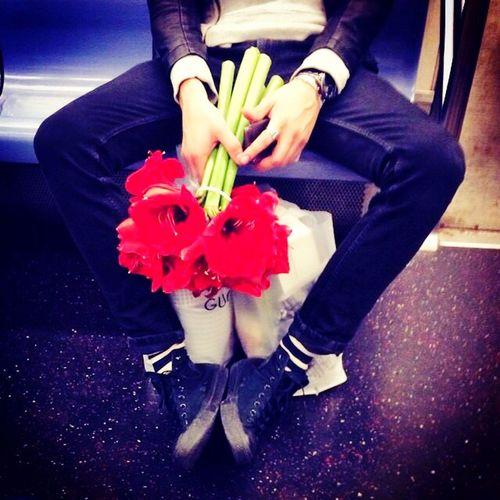 I Heart New York Beauty found on late night train rides.