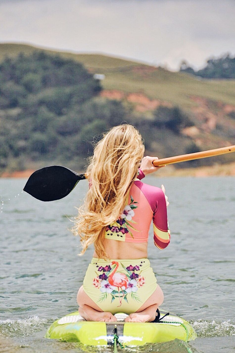 Keep Paddeling Blond Hair Holding Water Girls Outdoors Sea Beach Leisure Activity Water Sports Paddleboarding Paddling Hobbies Strong Women People Outdoor Photography Outdoor Activity Energy Strength Fashion Swimwear Sunny Active Lifestyle  Lifestyles Life Is A Beach Resist