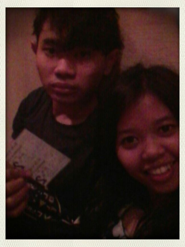 Watching Transformers4 at Blok M Square 21 Cinema with My Lovely Boyfriend ❤
