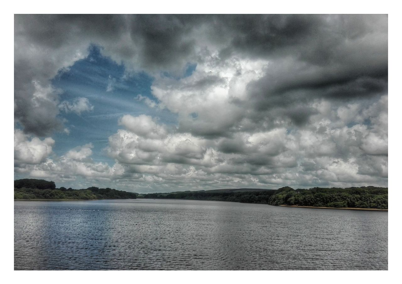 Clouds over the res. Landscape Lake Outdoors Nature Scenics Cloud - Sky Water No People Beauty In Nature Sky Tranquility Day Rural Scene Anderton Chorley Huaweip8 Lite Smartshots