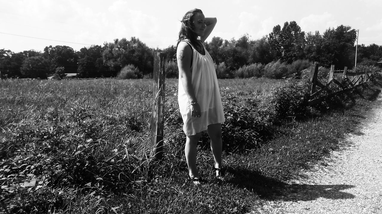 Outdoors Nature Black And White Grownwoman Monochrome _ Collection