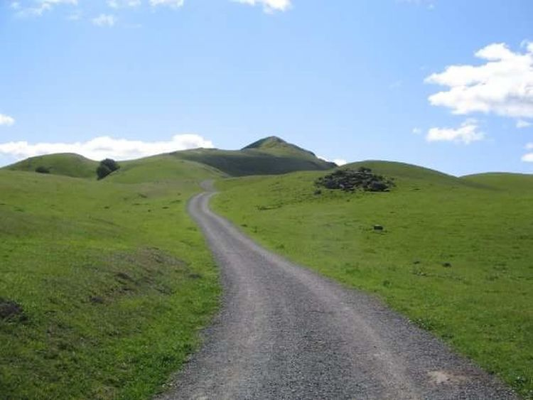 Almost There Keep Going  Path Trail Summit Mission Peak Regional Reserve Fremont San Francisco Bay Area California On Your Bike