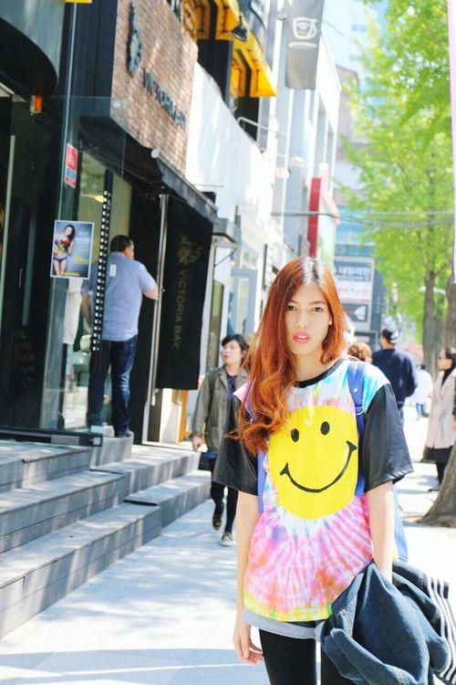 Tiedyefashion Cawaii Fashion Tiedye✌✌ Tiedyedshirt Bkk Thailand Shophappynan