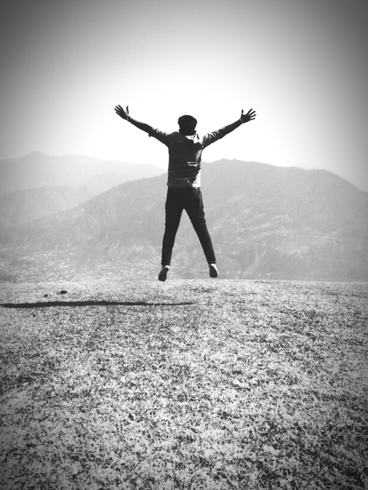 Joy Of Life Jumpshot Jump To The Sky Lifeisbeautiful Life Is A Journey Traveller Climbing Stairs Mountains And Sky Reaching The Top Top Of The World Away From The Hustle Awayfromeverything Just Being Me Just Taking Pictures Living The Dream Exploring The Unknown Unknown Journey Journeytoheaven Only Black And White Photographs Bijlimahadev Kullu Manali India