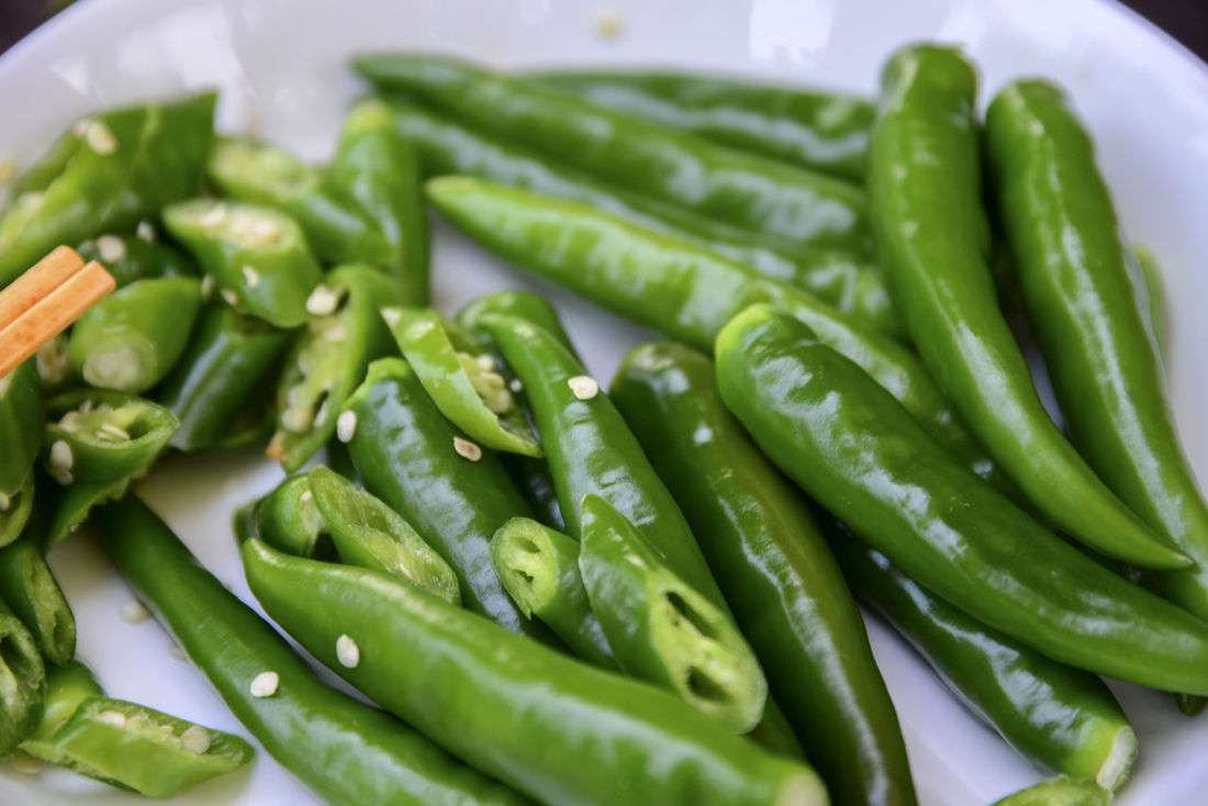 peppers Close-up Day Food Food And Drink Freshness Green Color Healthy Eating Indoors  No People Pepper Sidedish Vegetable