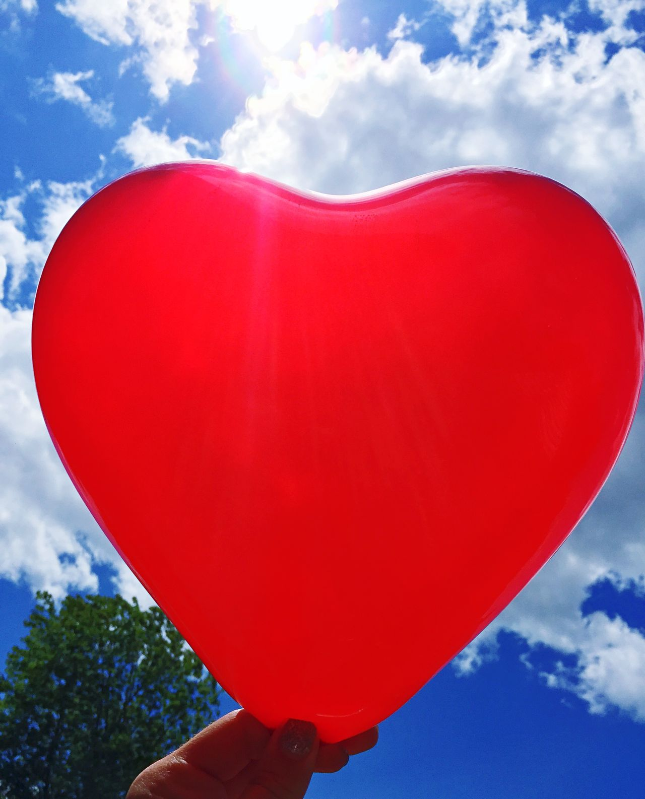 Heart Balloons Sky Sun Eye4photography