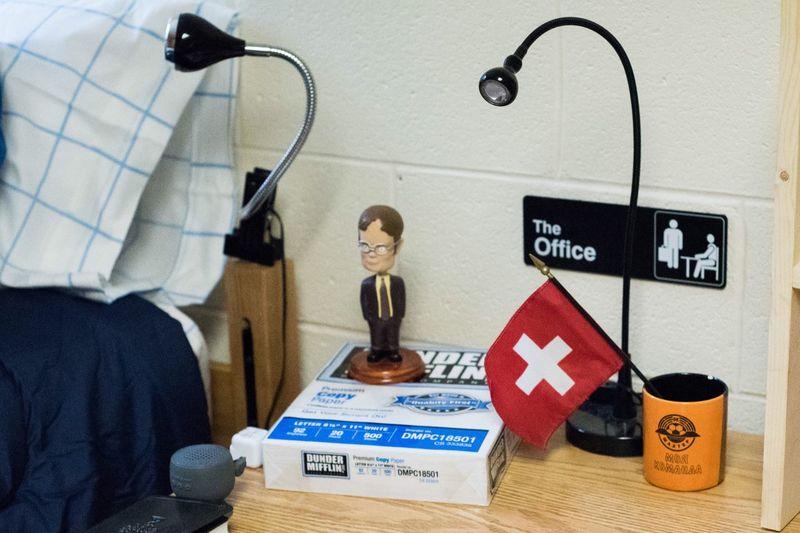 Office Michael Scott Dwight Dunder Mifflin JMU Who's Excited For Jmu?