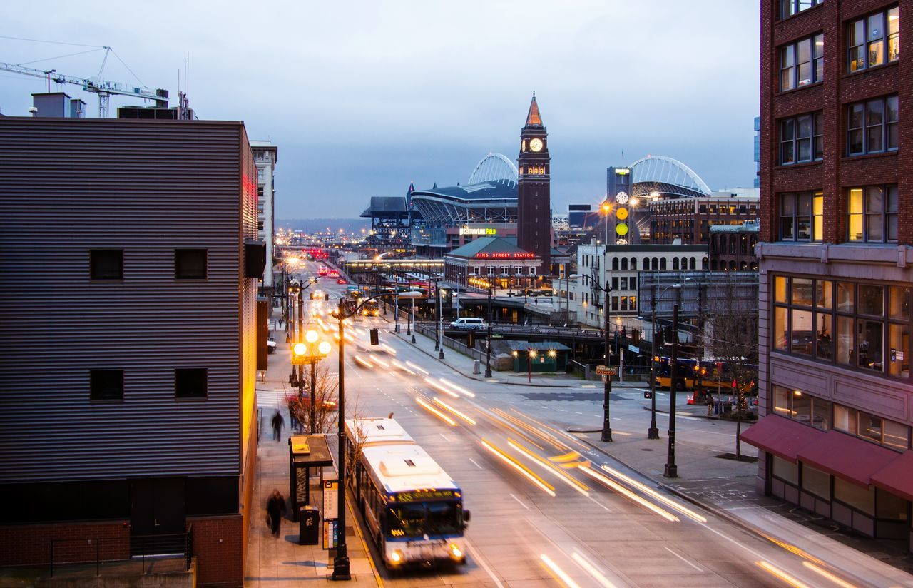Beautiful stock photos of seattle, , Architecture, Building Exterior, Bus
