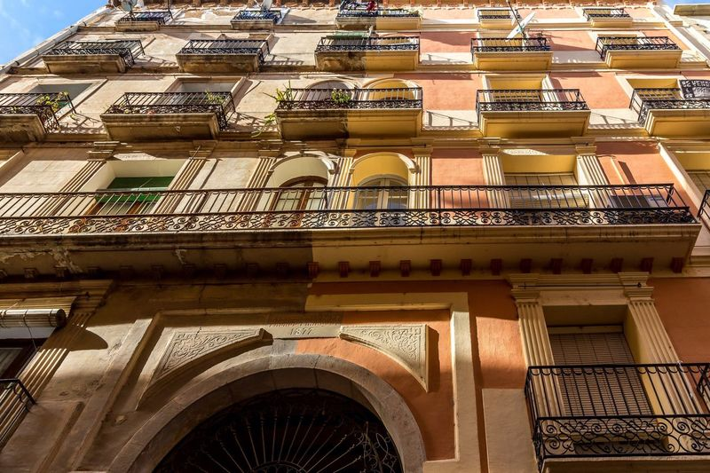 Half Paint Old Building  Incomprehensible