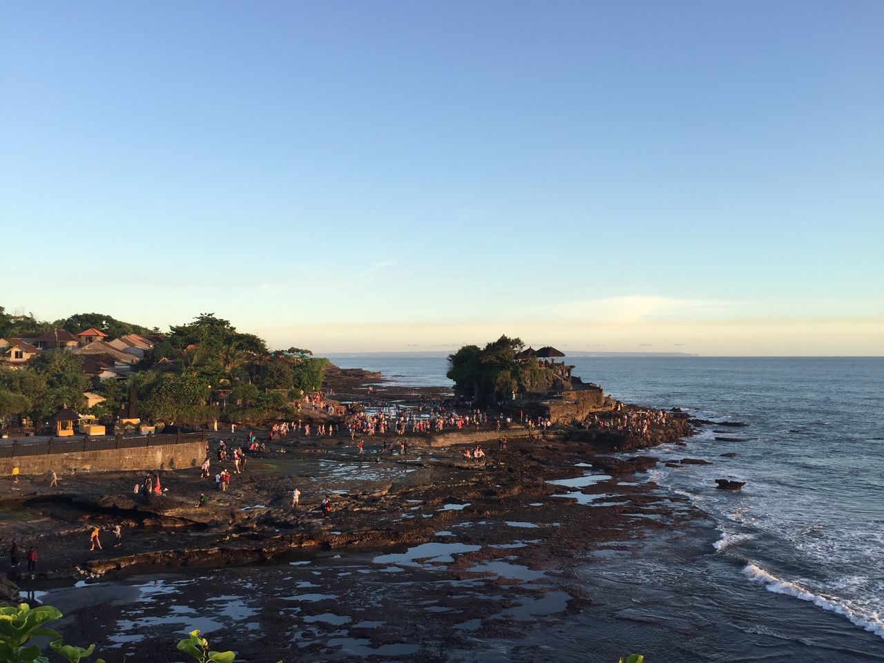 Tanah Lot, Bali, Indonesia. Bali Beauty In Nature Building Exterior Horizon Over Water INDONESIA Nature Non-urban Scene Outdoors Rock Formation Sea Sky Tanah Lot Tourism Tranquil Scene Tranquility Travel Destinations Water Waterfront