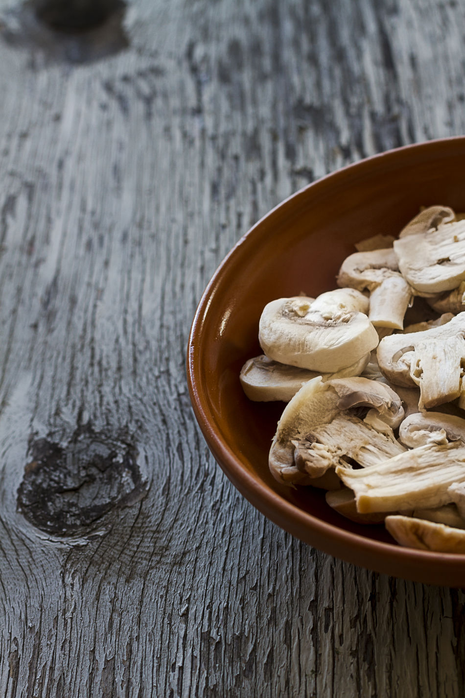 Beautiful stock photos of table, Bowl, Cropped, Edible Mushroom, Focus On Foreground