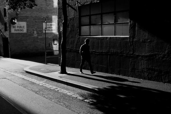 streetphoto_bw in melbourne by Jim McDonagh