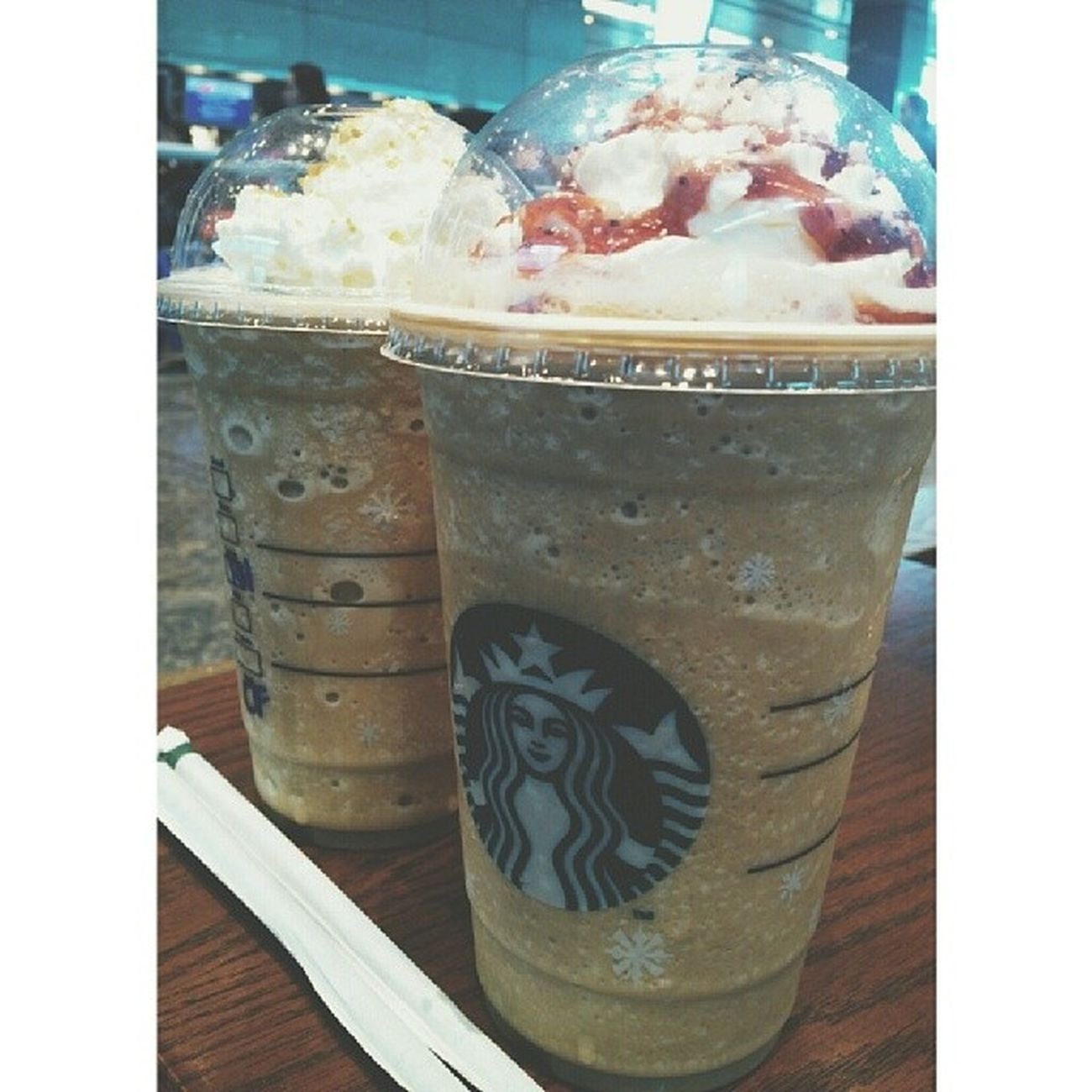 """Venti for Venti"" before flight :)"