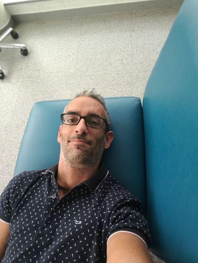 EyeEm Selects me at hospital. Close up.