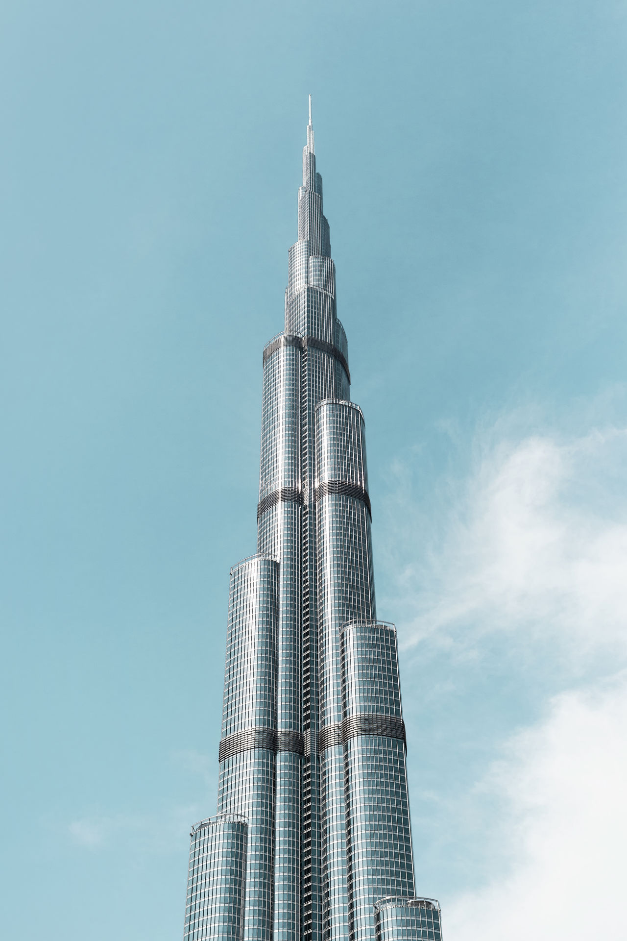 Architecture Architecture_collection BIG Blue Sky Burj Khalifa Clear Sky Day Huge Low Angle View Modern No People Outdoors Sky Tourism Tourism Destination Tourist Attraction  Tower Travel
