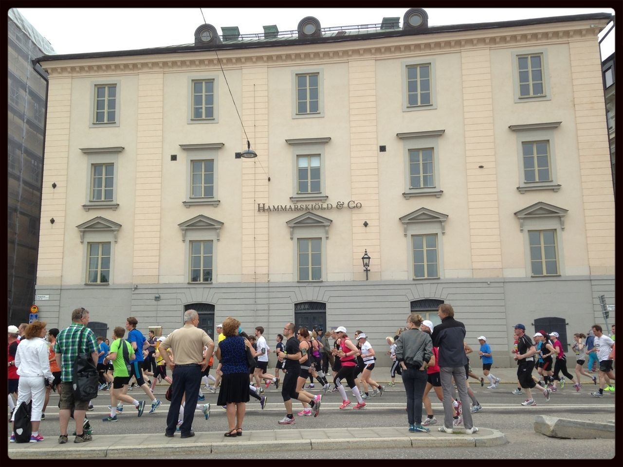 Running Stockholm Marathon