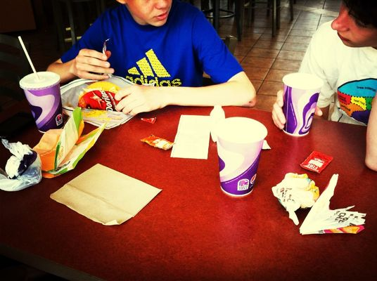 food at Taco Bell by Bobby Schindel