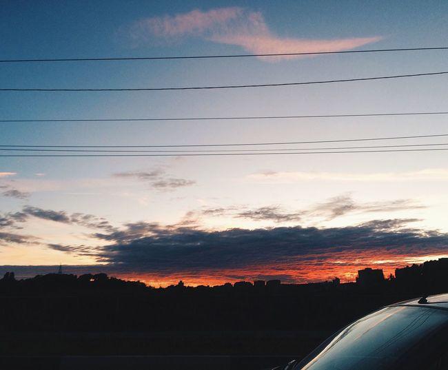 Sunset Light Night Streetphotography Street Nature Lipetsk First Eyeem Photo