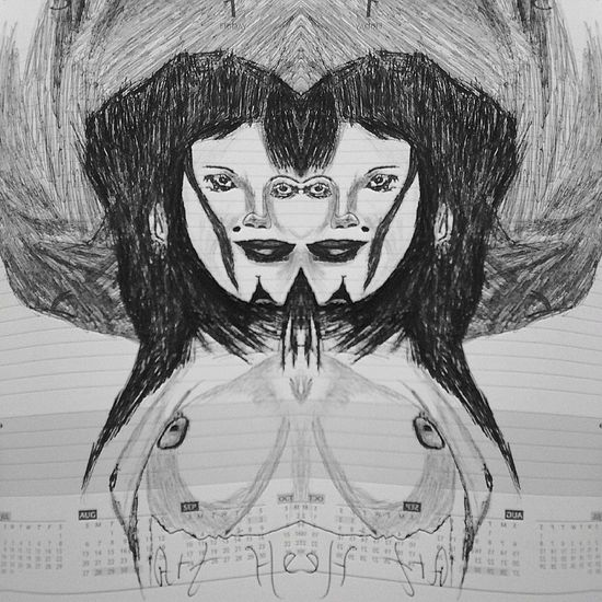 Les jumelles siamoises,lol Drawing Art Design