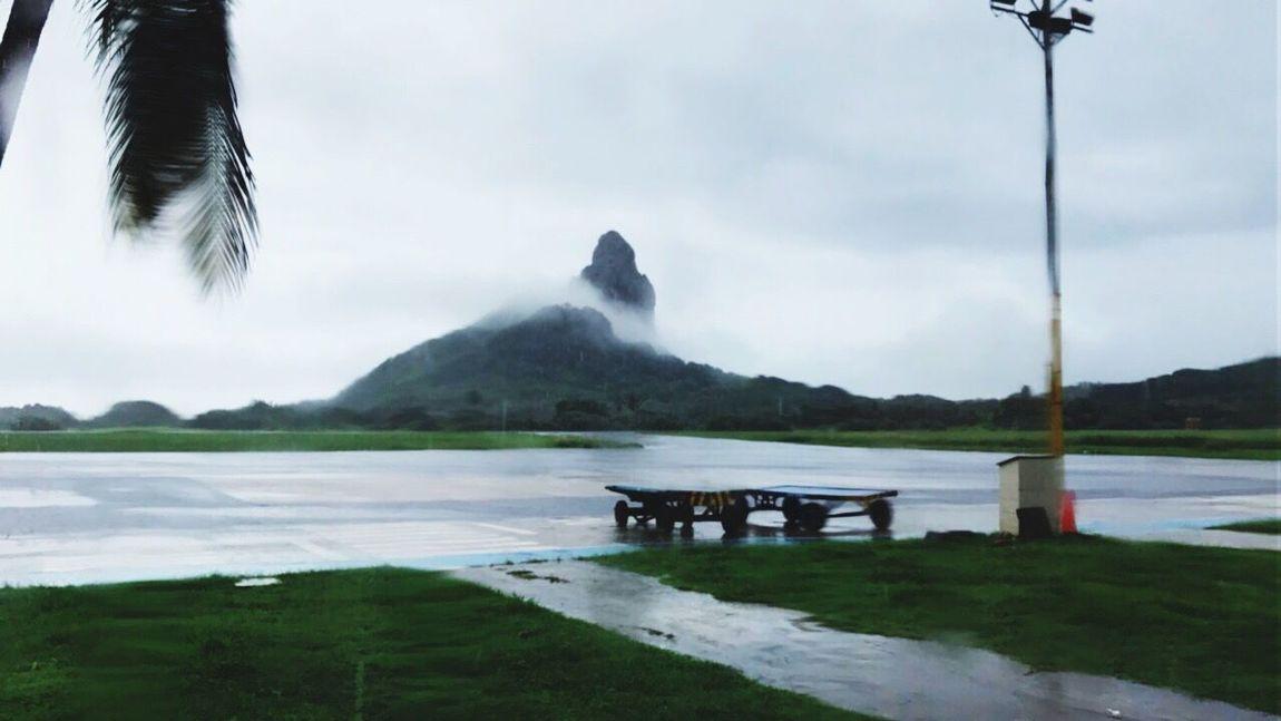 Fernandodenoronha Noronha Noronhando Pico Nature Brazil Sky Travel Destinations Tranquil Scene Iphonephotography Iphone7 Fly 🌧🌧🛫✈️🛬