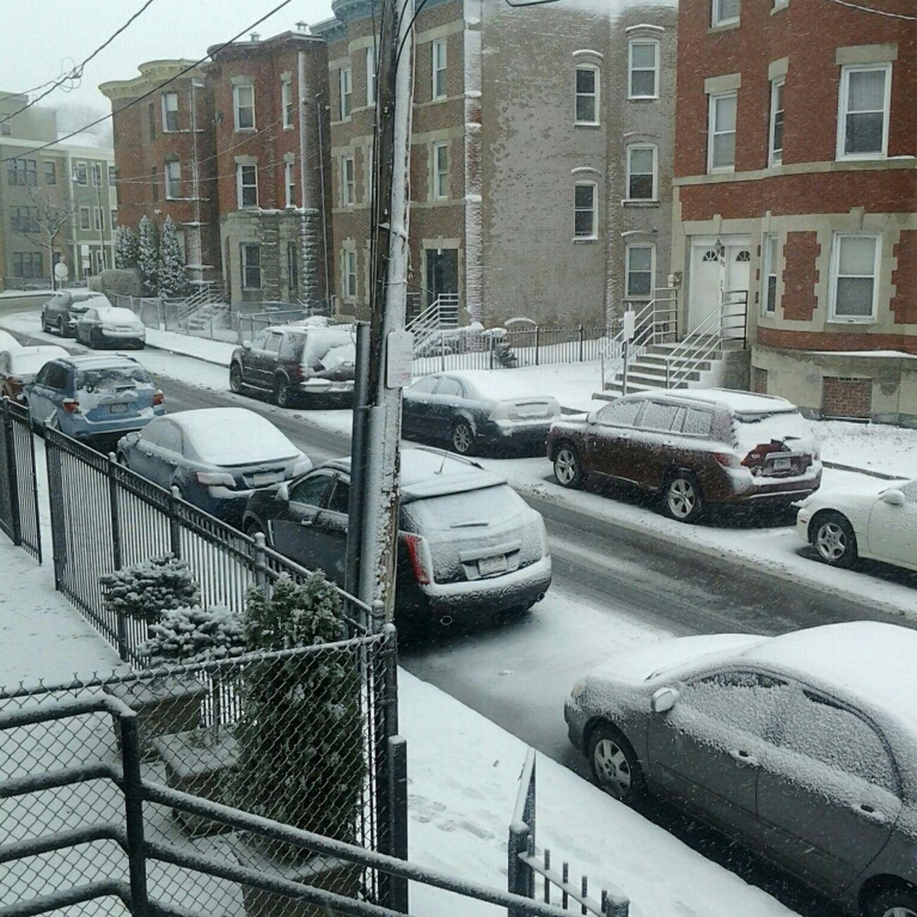 The snow again